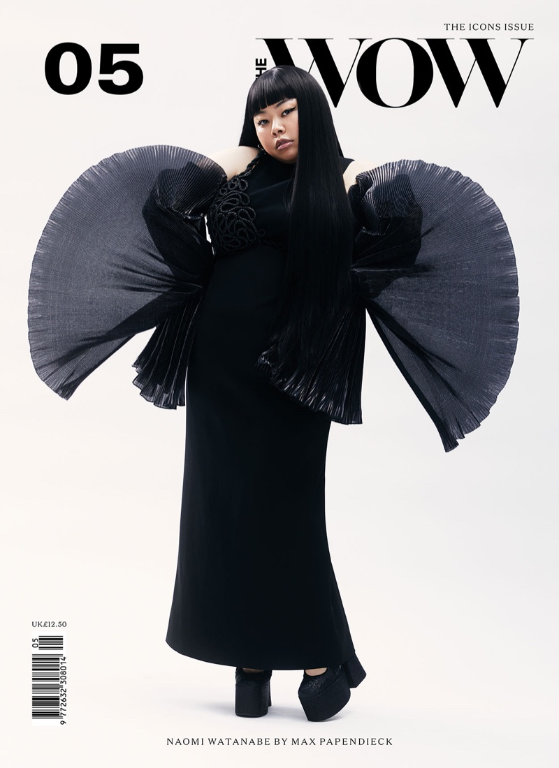 Naomi Watanabe on The WOW Magazine Issue #05 Cover. Photo: Max Papendieck
