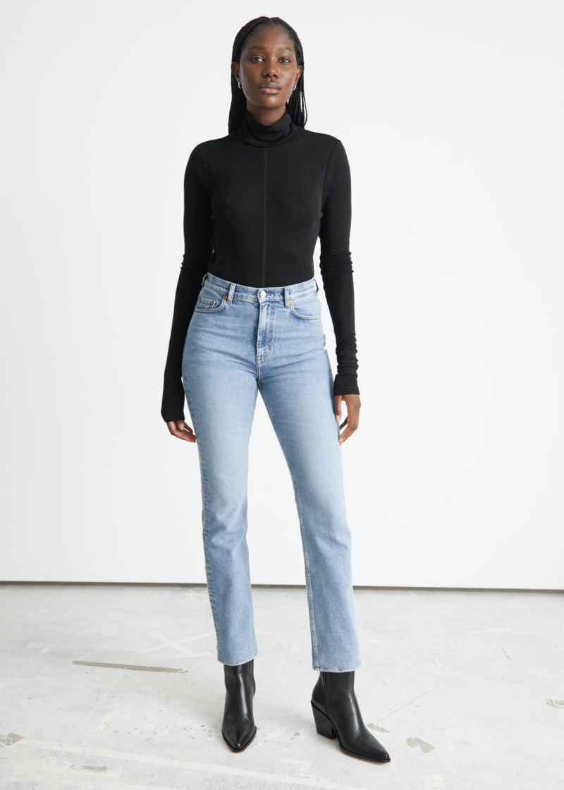 & Other Stories Favourite Cut Jeans in Light Blue $89