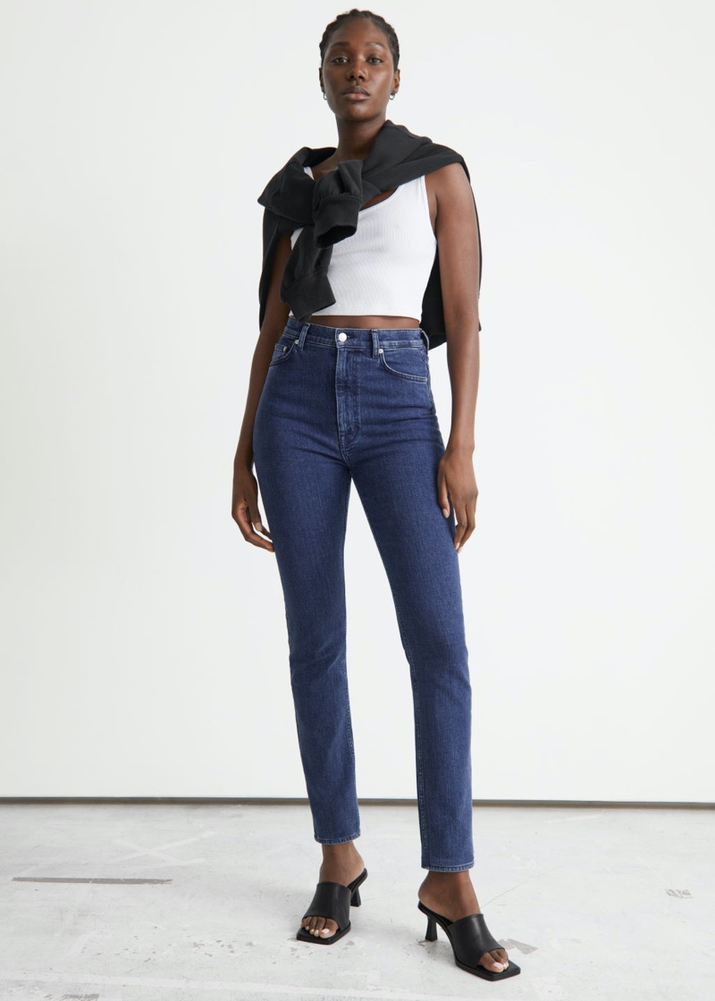 & Other Stories Muse Cut Jeans $99
