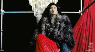 Qun Ye Poses in Opulent Styles for ELLE China