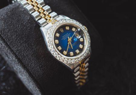 Rolex Oyster Diamond Watch Women