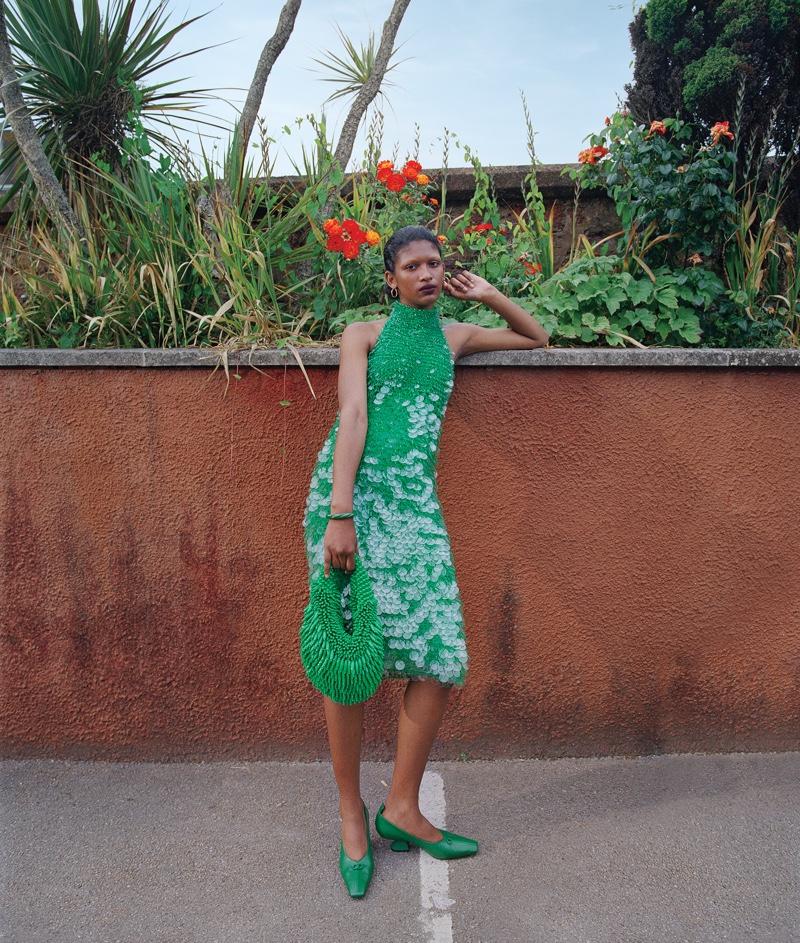 Shivaruby Models Dressed Up Looks for WSJ. Magazine