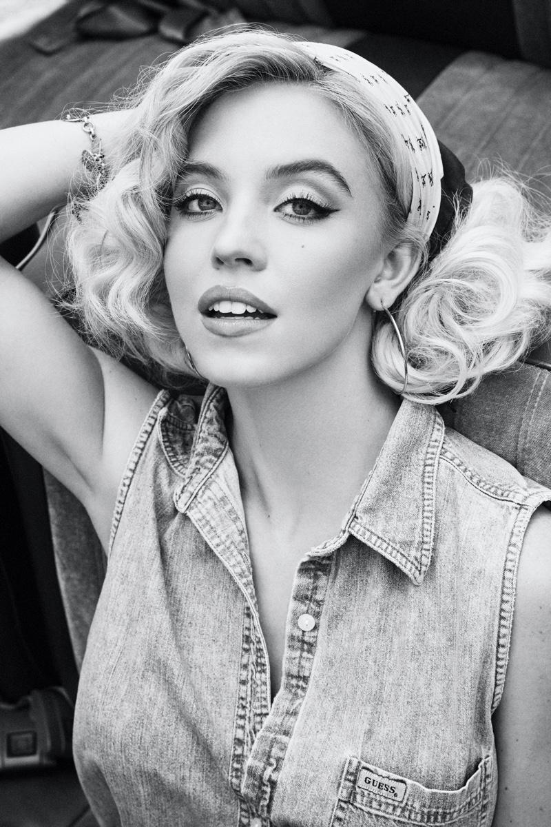 GUESS Originals x Anna Nicole Smith campaign. Photo: Kenneth Cappello