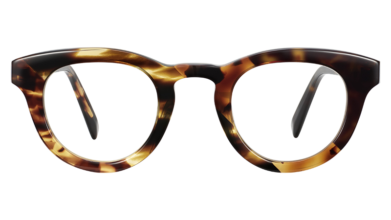 Warby Parker Gaines Glasses in Tortoise Collage II $195