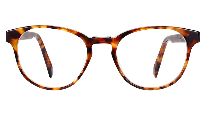 Warby Parker Percey Glasses in Rye Tortoise $95