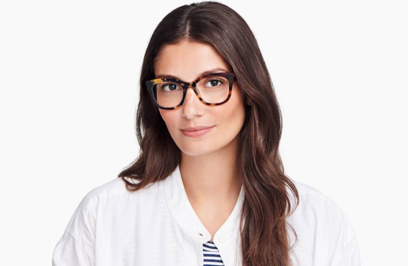 Warby Parker Tortoise Collage glasses.