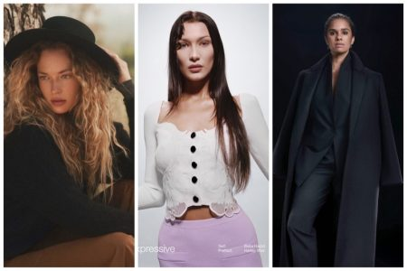 Week in Review | Hannah Ferguson's New Cover, Bella Hadid in Self-Portrait, Misty Copeland for Theory + More