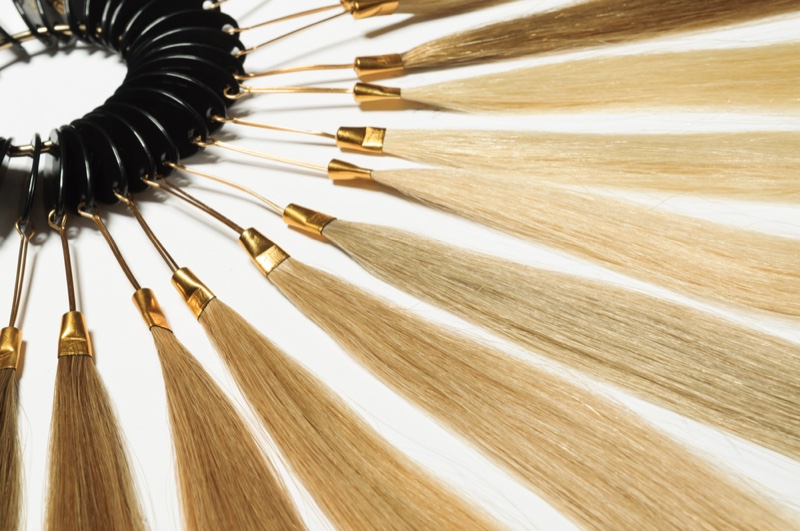 Weft Hair Extensions Color Palette