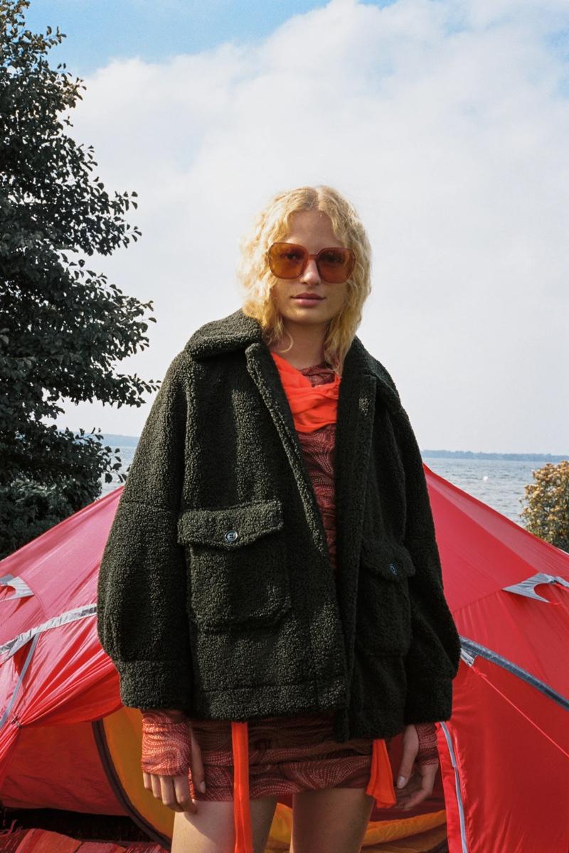 Zara Faux Fur Jacket.
