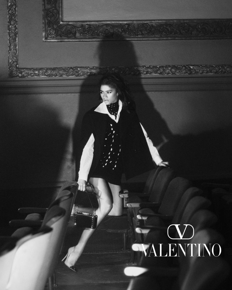 Valentino unveils fall-winter 2021 Act Collection campaign.