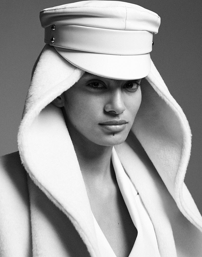 Antonella Delgado Poses in New Season Looks for Vogue Arabia