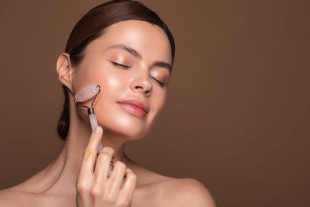 Beauty Pink Facial Massager Skin