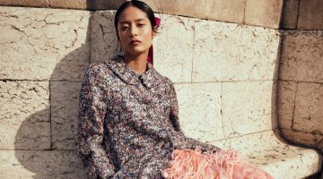 Bella Kim Charms in Chanel Haute Couture for ELLE Thailand