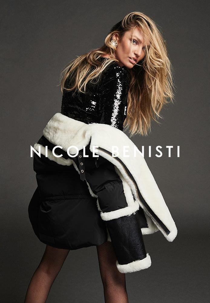 Supermodel Candice Swanepoel fronts Nicole Benisti fall-winter 2021 campaign.