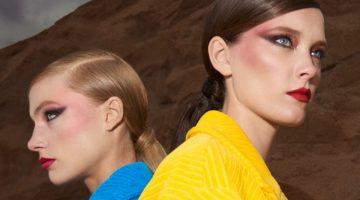 Britt & Mildred Pose in Colorful Looks for InStyle Spain