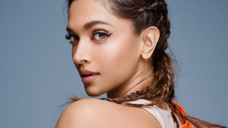 Wearing a braided hairstyle, Deepika Padukone shines as an adidas ambassador. Photo: adidas