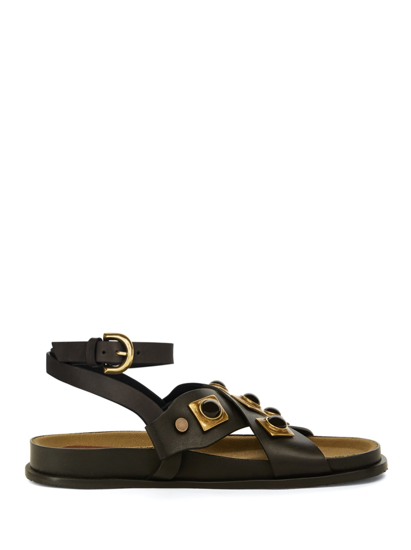 Sandal from Etro Crown Me Collection. Photo: Etro
