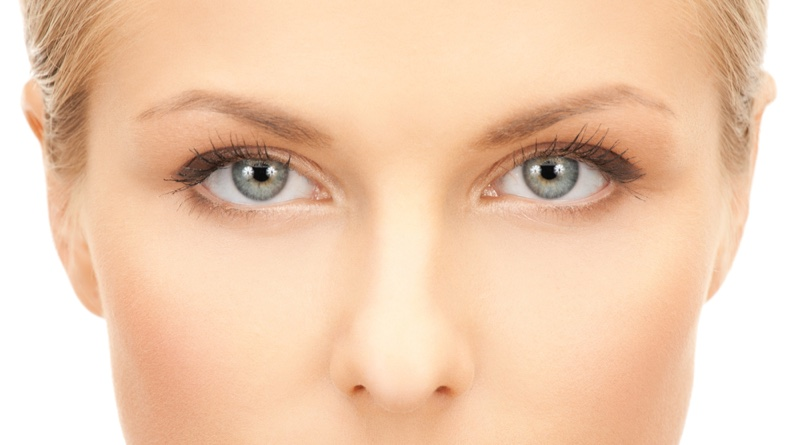 Eyes Closeup woman