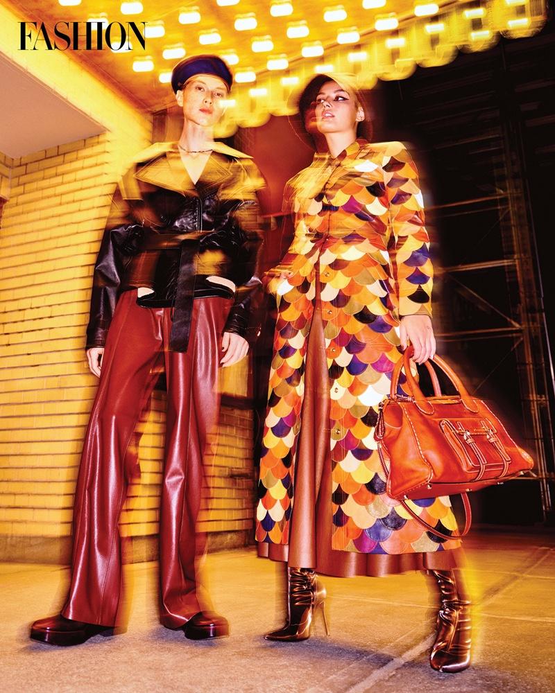 City Lights: Venissa, Jessica & Émile Pose for FASHION Magazine