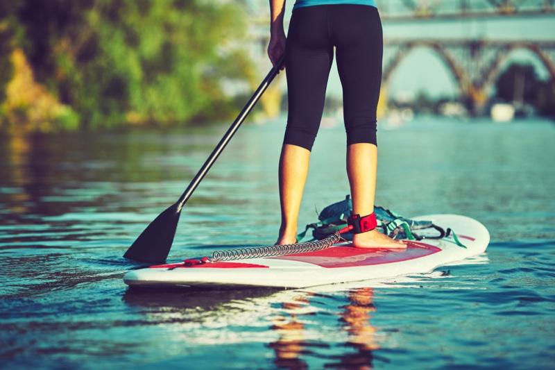 Girl Paddle Board