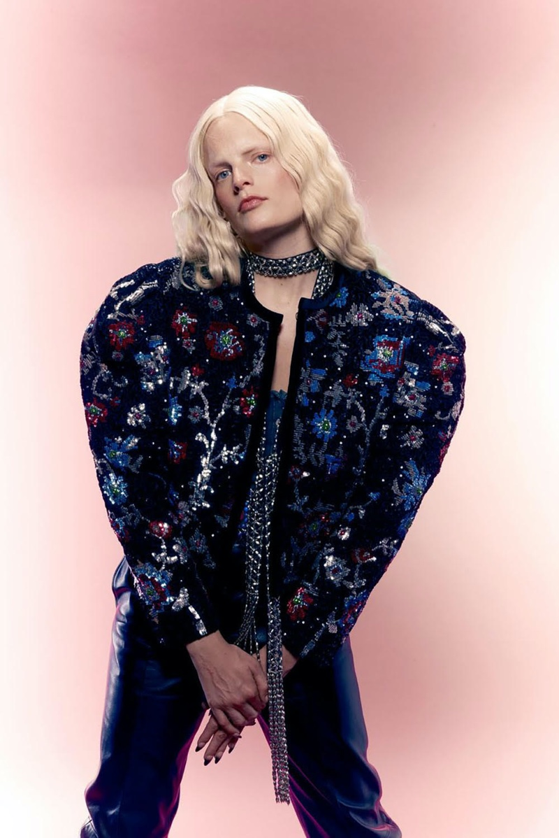 Hanne Gaby Odiele Graces the Pages of Dry Clean Only
