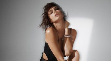 Irina Shayk stars in Irina Shayk x Tamara Mellon Collection II campaign.