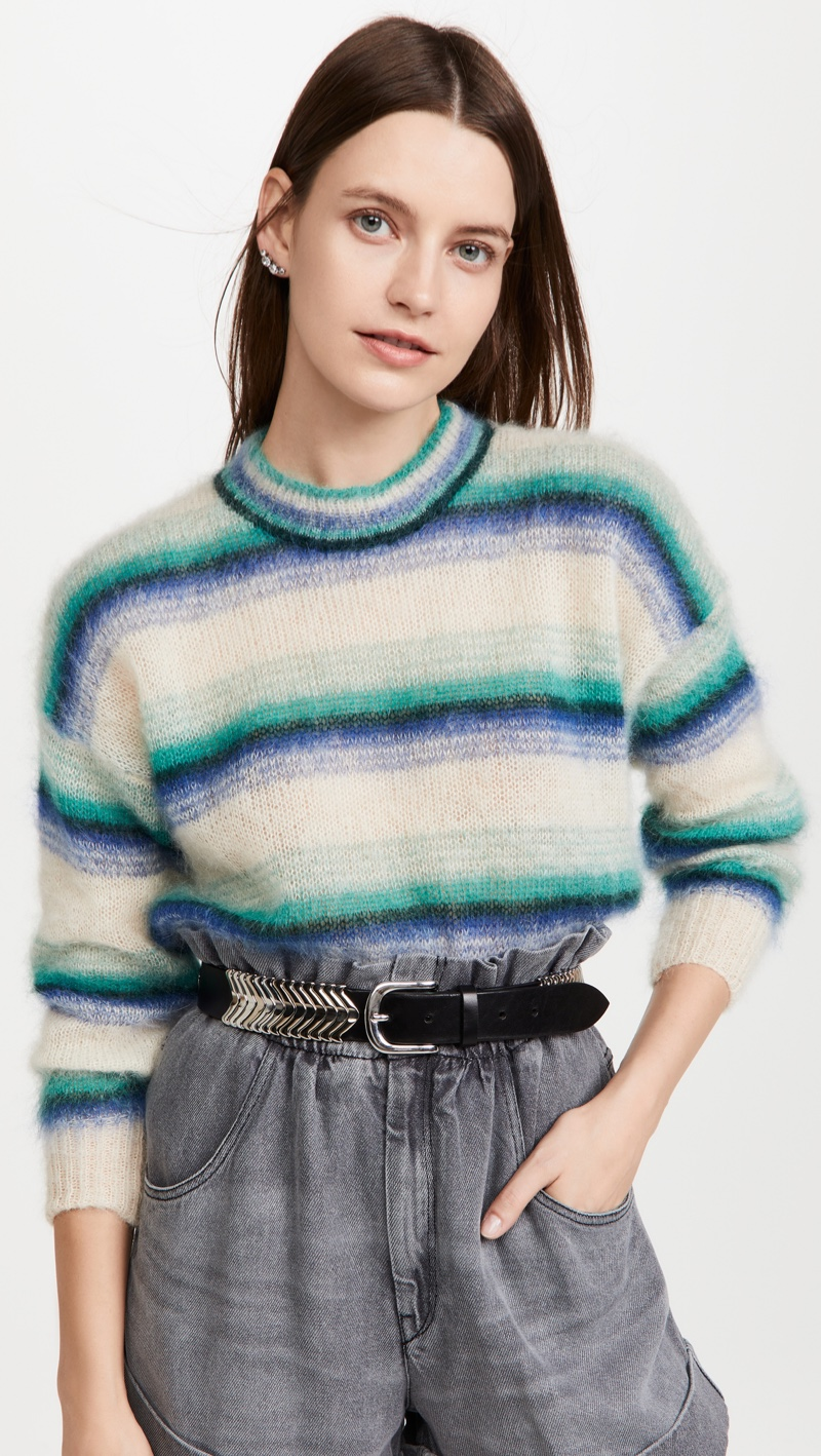 Isabel Marant Etoile Drussell Mohair Sweater $580