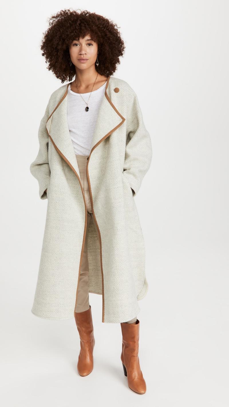 Isabel Marant Etoile Joini Coat $1,095