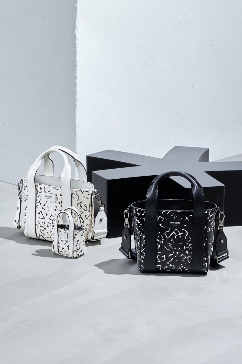 JIMMY CHOO / ERIC HAZE COLLECTION CURATED BY POGGY bags.