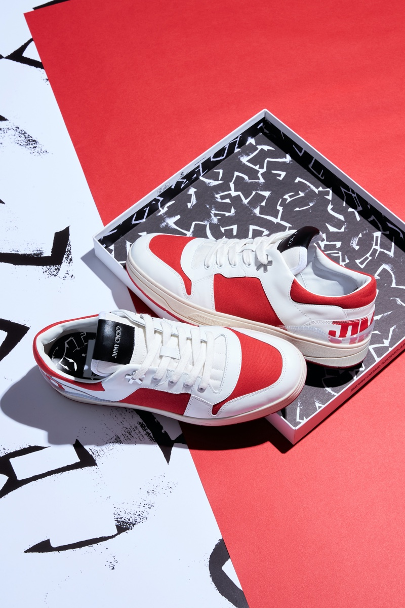 JIMMY CHOO / ERIC HAZE COLLECTION CURATED BY POGGY sneakers.