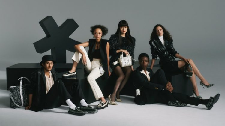 JIMMY CHOO / ERIC HAZE COLLECTION CURATED BY POGGY collaboration.