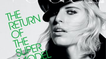 Karolina Kurkova Channels Iconic Styles for Vogue Czechoslovakia