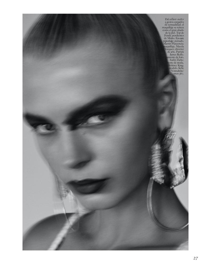 Kylie Vonnahme Gets Her Closeup for Vogue Mexico Beauty