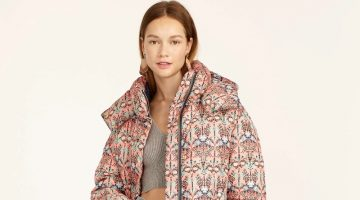 Liberty Flurry Puffer Jacket with PrimaLoft Mary Noveau Print $398