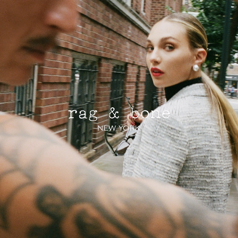 rag & bone taps Maddie Ziegler as the face of its fall 2021 campaign.