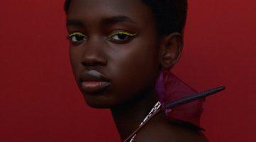 Mariama Ndure Models Gorgeous Jewelry for Harper's Bazaar Czech