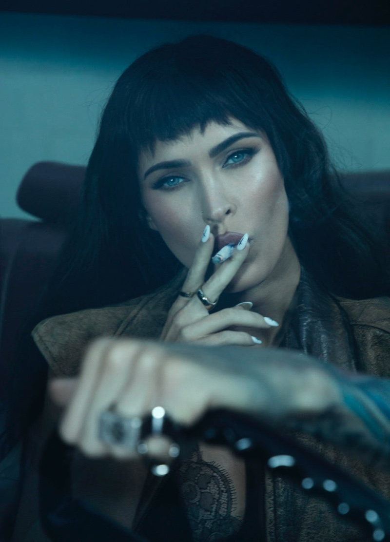 Looking smoking hot, Megan Fox goes for a drive. Photo: Daniella Midenge