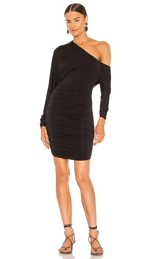Michael Costello x REVOLVE Maeve Mini Dress in Black. - size XS (also in S)