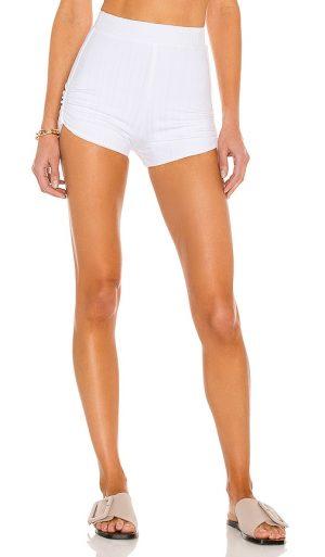 Michael Costello x REVOLVE Maya Shorts in White. - size XL (also in L)