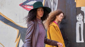 Nour & Maia Wear Fall City Styles for Grazia Italy