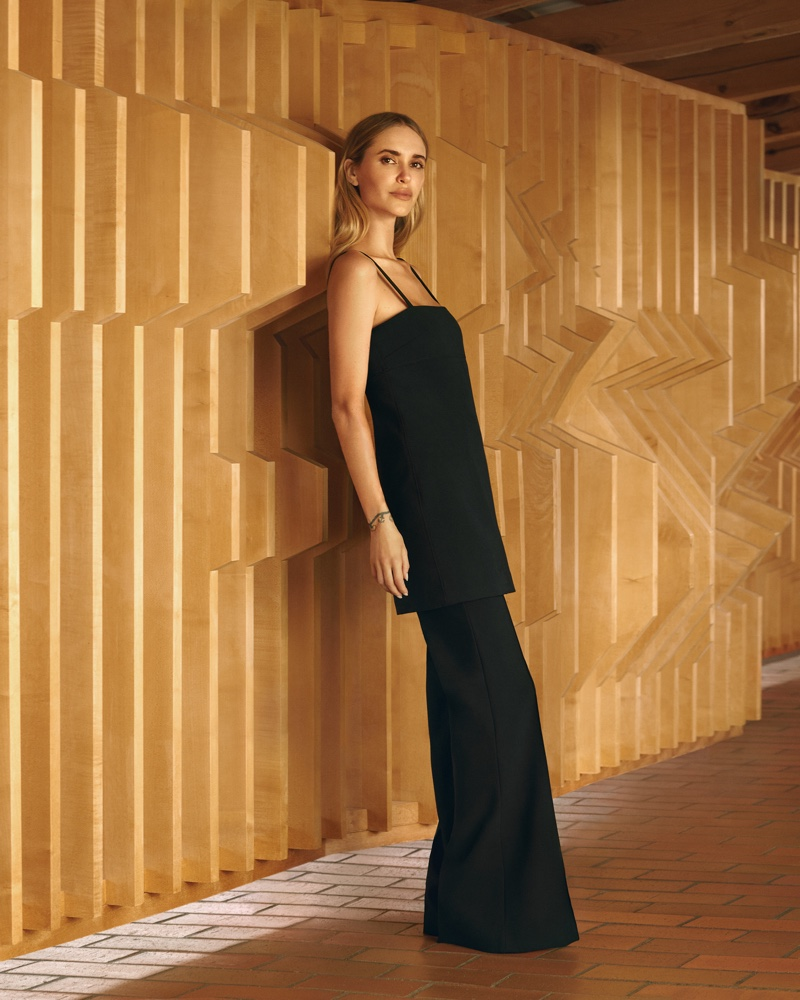 Twenty pieces are a part of the Pernille x Mango collection.