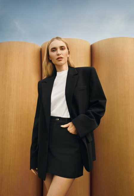 Pernille Teisbaek stars in Pernille x Mango campaign.