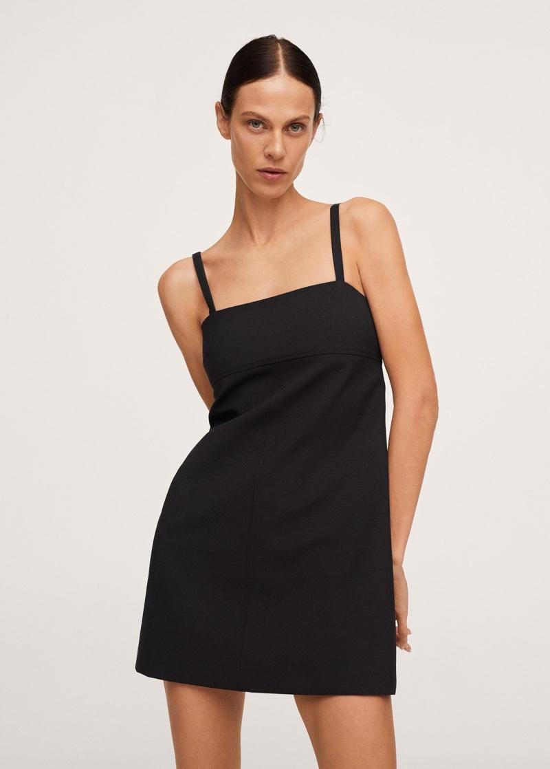 Pernille x Mango Wool Mini Dress $119.99