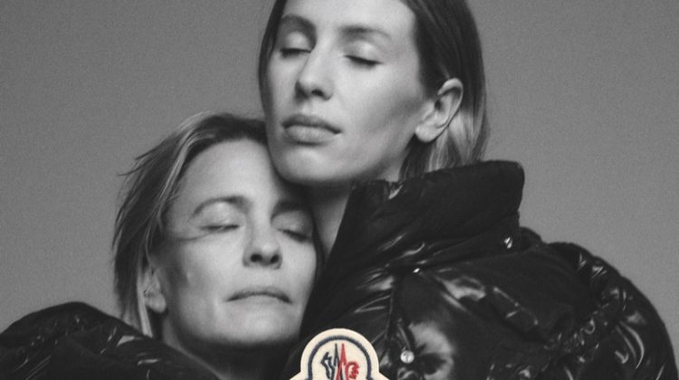 Robin Wright and Dylan Penn star in Moncler We Love Winter fall-winter 2021 campaign.