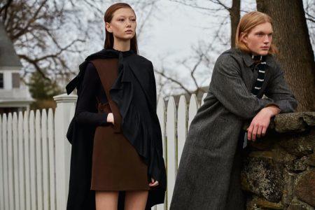 Sara Grace & Ty Wear Autumn Styles for Hero Magazine