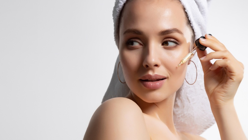 Skincare Face Serum Woman