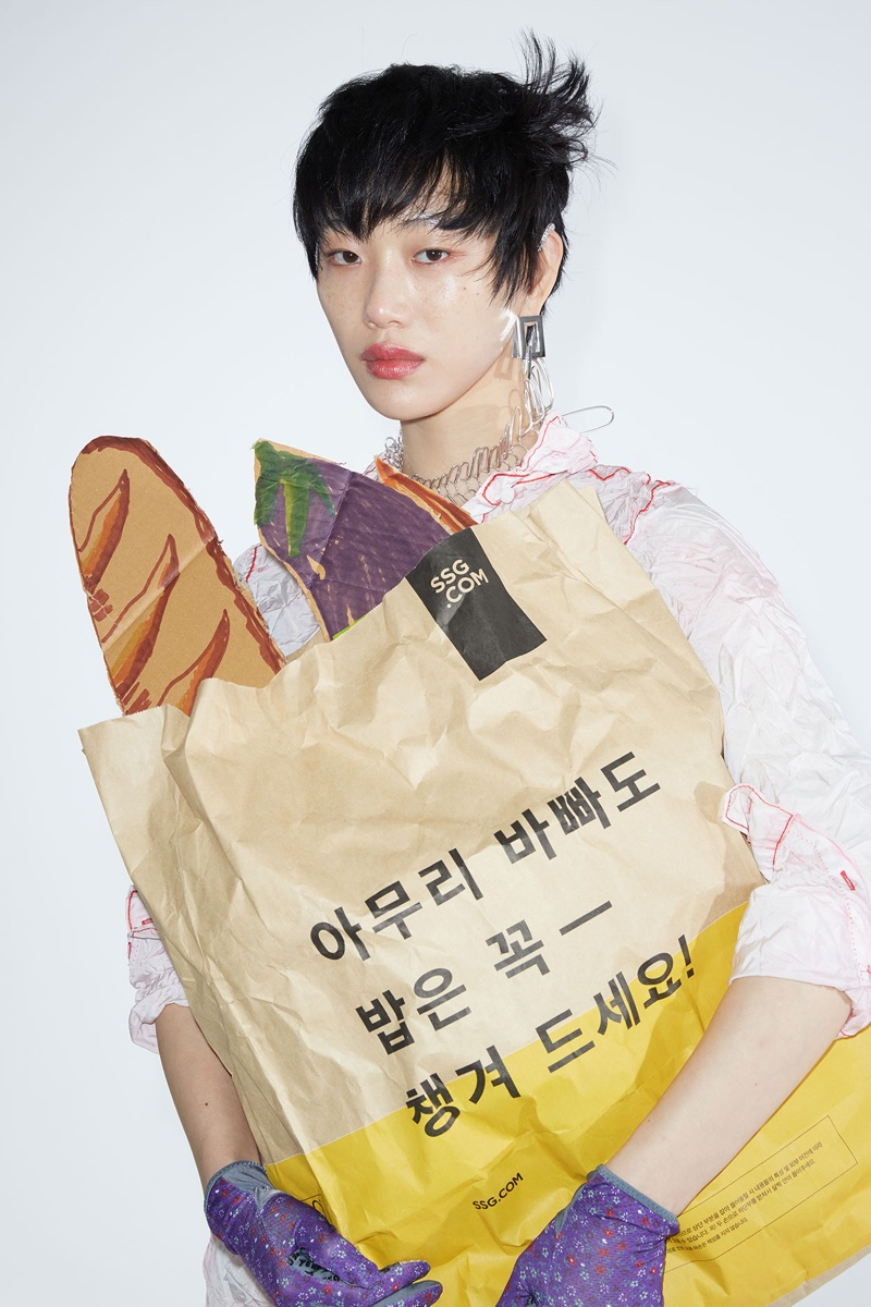 Sora Choi Models Statement Looks for The WOW Magazine