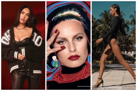 Week in Review | Karolina Kurkova's New Cover, Megan Fox x Boohoo, Bella Hadid in Michael Kors + More