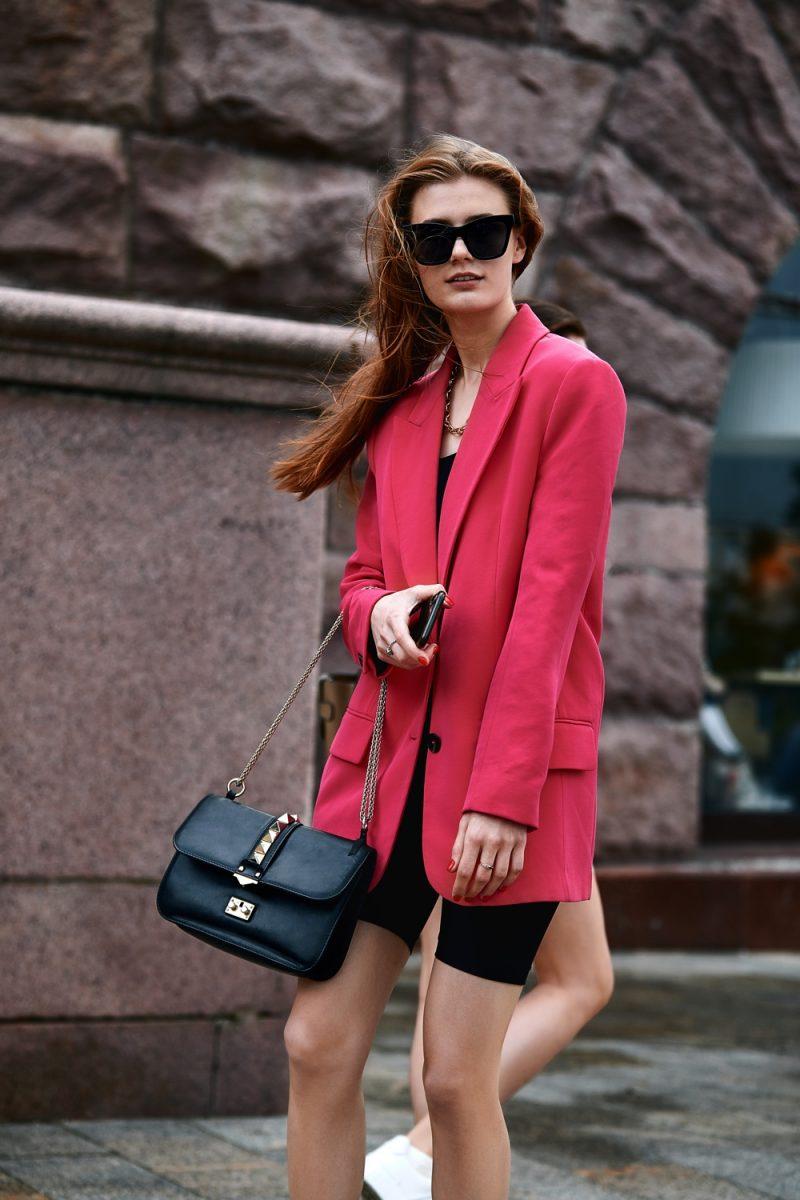 Woman Stylish Oversized Blazer