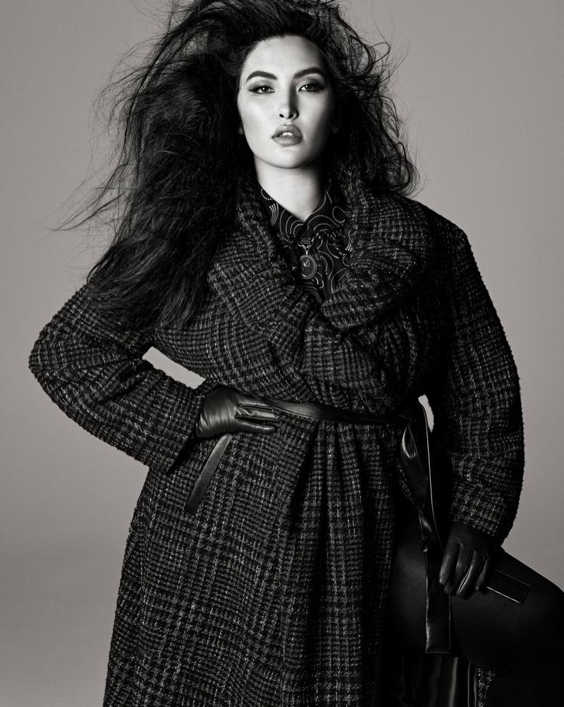 Yumi Nu stars in Zara Studio fall-winter 2021 campaign.